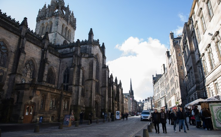 Image taken on the Royal Mile.