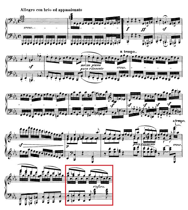 Beethoven-op.-111-1.-Satz-Takt-33
