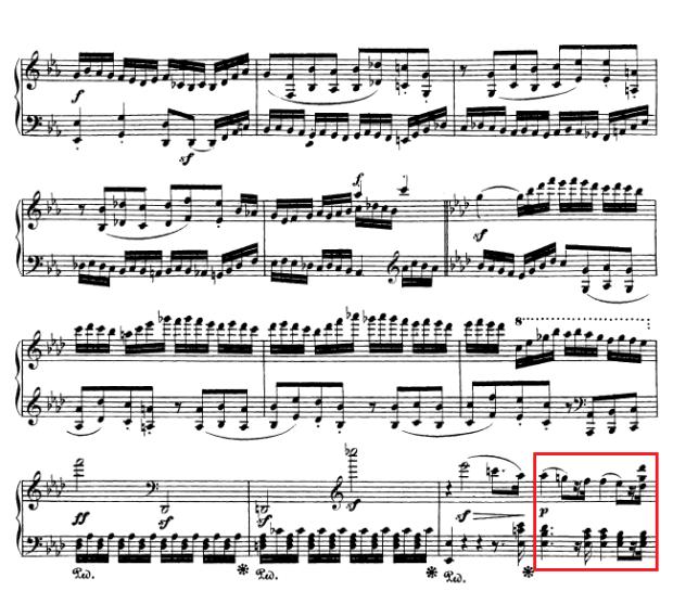 Beethoven op. 111 - 1. Satz - Takt 51