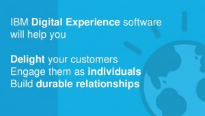 IBM Digital Experience Announcements And Demos