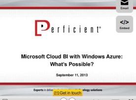 Cloud BI webinar image