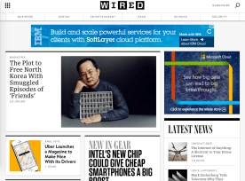 Wired.com Redesign