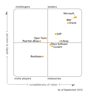 2010 Magic Quadrant for Horizontal Portals