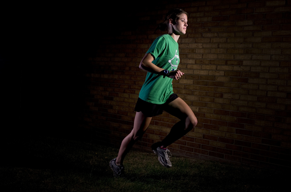 Peoria Notre Dame senior Molly Dahlquist looks to make a run at the state cross country title this year following setbacks in past years.