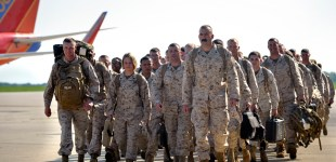 Marines Return Home