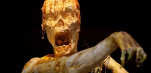 Images of Halloween: Jack-o-lanterns, zombies, and crazy costumes