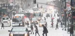 Winter weather slams the Northeastern U.S.