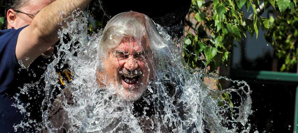 ALS Ice Bucket Challenges across the nation and globe