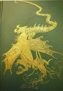 Cover of Lang's Green Fairy Book (Longmans, 1892)