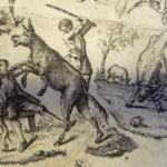 """""""L'âne et le petit chien"""" (livre IV)."""