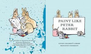 Covers of Cotsen's Paint Like Peter Rabbit (click on image above to view larger version)