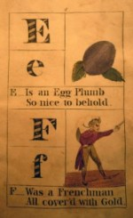 F is for Frenchman, The Alphabet Ladder, Cotsen new accession