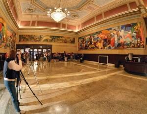 daugherty state theater cleveland mural