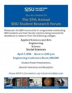 SJSU Student Research Forum / Academic Spotlight