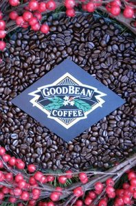 GoodBean Coffee Co. Christmas logo