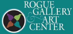Rogue Gallery and Art center logo Medford Oregon