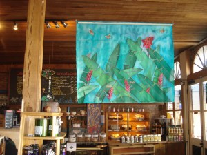 Tropical Splendor, by Judy Elliott, at the GoodBean