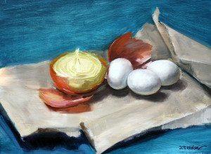 Oil painting by Jenay Elder