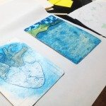 Collagraphy with Liz Macgregor