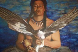 PLACATING THE SPIRIT OF THE SLAIN EAGLE, by Patty McGreeley