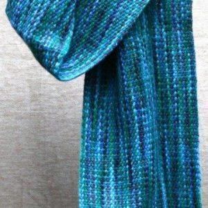 Handmade scarf by Stepanie Moss