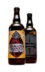 Organic Dragon's Blood Braggot by Fire Cirkl Brewery, White City, Oregon