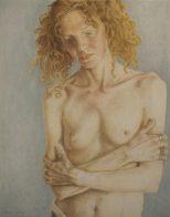 Nicole Jeffords, Austin, TX: Arden, Oil on Canvas, 28x22