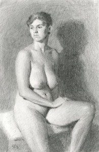 Ashland Art Center Additional Class Offerings, February 2016 : Academic Life Drawing with Sarah F Burns