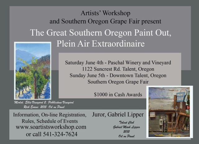 The Great Southern Oregon Paint Out 2016