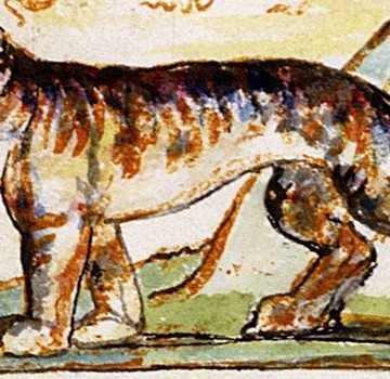 """""""Tiger,"""" mixed media by William Blake"""