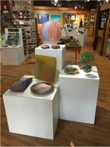Ashland Gallery Association July Exhibits: Ashland Glass Act at Nimbus Gallery