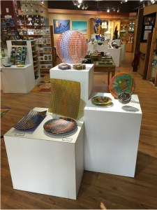 Ashland Gallery Association July Exhibits: Ashland Glass Act at Nimbus Gallery