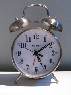 Small Of Old Fashioned Alarm Clock