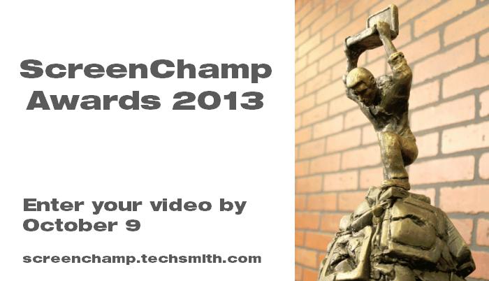 ScreenChamp Awards graphic