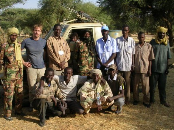 After successful humanitarian access negotiation's with the Darfur Revolutionary Front rebel group in North Darfur, 2007