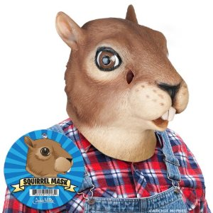 photo of a squirrel mask