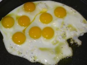 Separate egg yolk from white