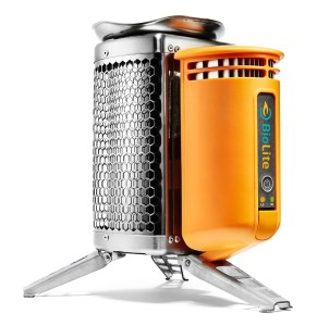 Photo of campstove that charges phones