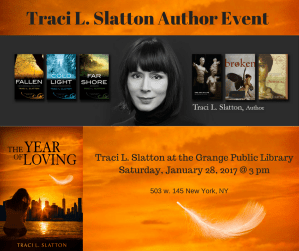 Upcoming Author Events!