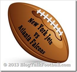 New York Jets Take On The Atlanta Falcons