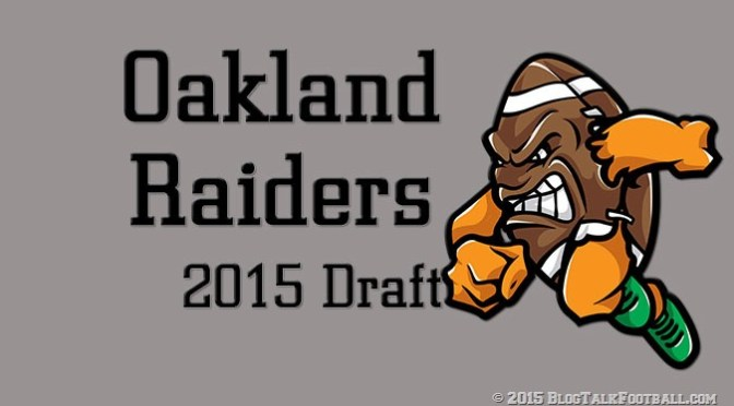 Oakland Raiders Draft 2015