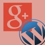 google plus badge button wordpress