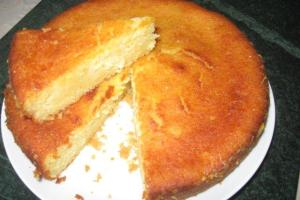 Citrus Syrup Cake
