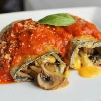 Vegetarian Stuffed Eggplant Recipe: Love Kraft Singles