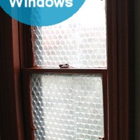 Using Bubble Wrap as Insulation for Old Windows
