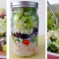 Greek Salad in a Mason Jar: Instructions and Tips on Packing a Salad in a Jar