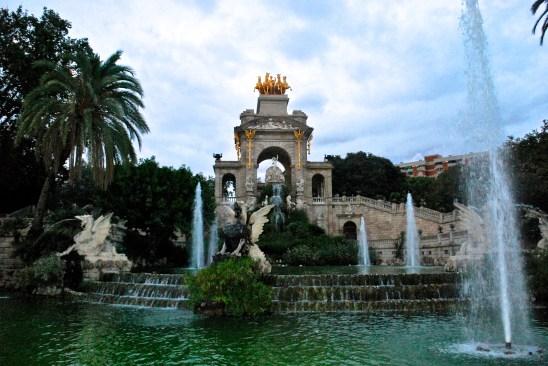 Font de la Cascada, Parc de la Ciutadella, Barcelona, Spain
