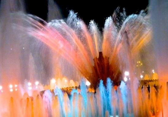 Magic Fountain, Barcelona Spain