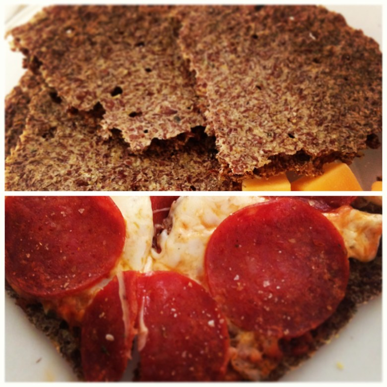 Paleo Microwave Cracker Pizzas