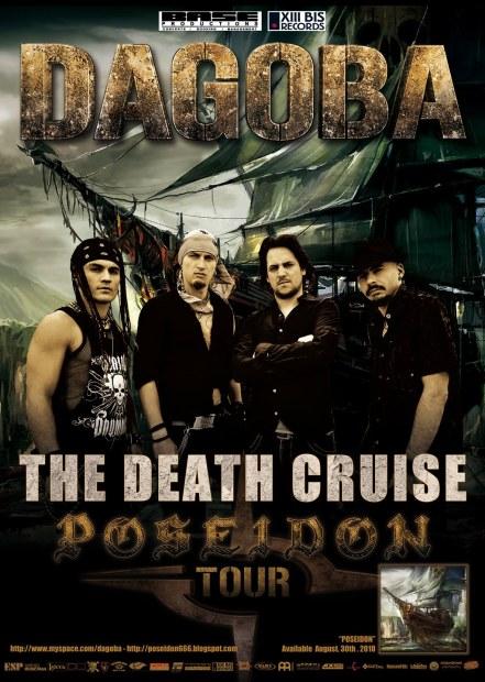 Dagoba Poster Tour Poseidon